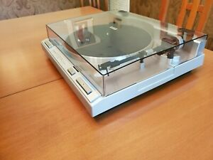 Pioneer PL-S50 33 And 45 RPM Speed Direct-Drive Turntable. Tested.