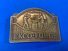 Vintage Ecko Forge Ecko Housewares Co. Belt Buckle Lewis Buckles Chicago