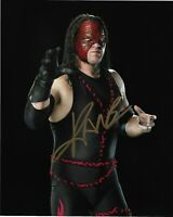 Kane autographed 8x10 Photo COA WWE Wrestling