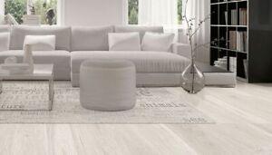 American Ken White Wood Effect Procelian Tiles Sample 100x150mm
