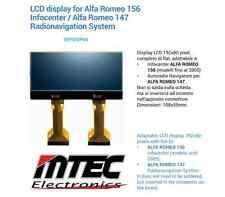 Display per contachilometri LCD // INFOCENTER ALFA ROMEO 147 / 156