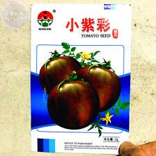 Round Chicago Tomato 'Purple Black' Organic 300 Seeds Non-GMO Vegetable Garden