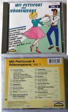 PETTICOAT & RÖHRENJEANS <1> Tommy Kent, Bibi Johns, Ted Herold,.. Karussell CD