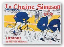 La Chaine Simpson Henri de Toulouse-Lautrec Art Print 28x39