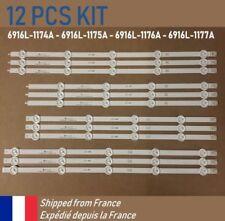 KIT 12 PCS LED BARRETTE RAMPE 6916L-1174A 6916L-1175A 6916L-1176A 6916L-1177A