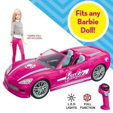 Barbie RC Dream Car Convertible Vehicle Remote Control NEW