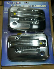 Ford 04-08 f150 amber Led two Key Holes Chrome (Front door Handles ONLY)