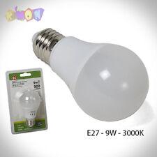 7393 Bombilla LED E27 - 9W 3000k luz Calida