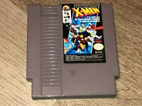 X-Men The Uncanny Nintendo Nes Cleaned & Tested Authentic