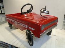 AMF Fire Chief Pedal Car No. 503 - Vintage 1960s