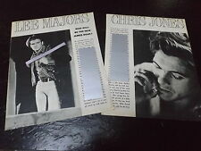 1967 LEE MAJORS & CHRIS JONES MAGAZINE ARTICLE CLIPPING NEW JAMES DEAN?