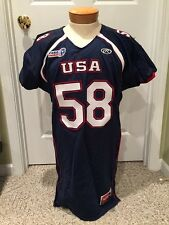 USA Football Game Used Jerseys - Buyers Choice of Number/Color/Size