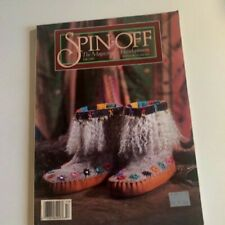 Spin-off Magazine Fall 1995: Vest, Hat, Mittens Felted Boots, Natural Dyes
