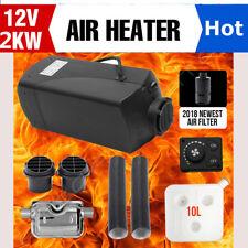 2KW 12V Air diesel Auto Heizung Parken Standheizung Heizgerät mit Luftfilter