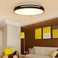 Flush Mount LED Ceiling Light 3 Colors Change Living Room Modern Fixture Lamp F