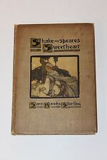 SHAKESPEARES SWEETHEART by Sara Hawks Starling 1905 HB 1st Ed Color Plates RARE