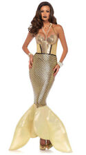 Golden Glimmer Mermaid Halloween Cosplay Costume 85613 Small