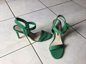 Chaussures plates  femme verte pointure 39