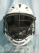 Rugged White Cascade LaCrosse Helmet Size Www S/M with Chin Strap