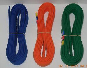 Taekwondo Belt Lot of 3 Karate Judo Jiu jitsu Martial Arts Blue Green Orange