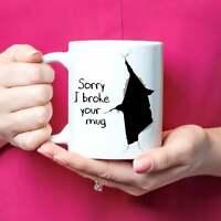 Sorry Gift Sorry Mug Sorry Coffee Cup Sorry I Broke Your Mug Apology Gift