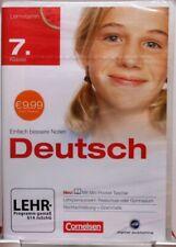 Software für die Schule + Deutsch + CD ROM + Lernvitamin Klasse 7 Nachhilfe #M18