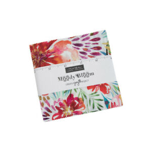 """Moody Bloom Charm Pack by Create Joy Project for Moda 8440PP 42 - 5"""" squares"""