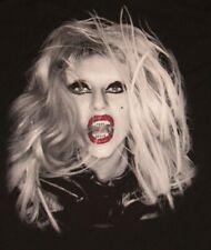 Lady Gaga The Born This Way Ball 2013 Concert USA Tour Black T-Shirt Bravado XL