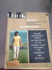 Look Magazine April 4, 1967 Jacqueline Kennedy (On Cover)