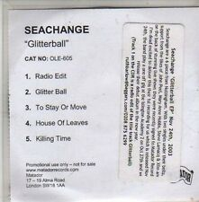 (CB754) Seachange, Glitterball - 2003 DJ CD