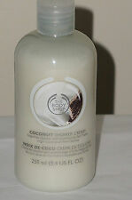 THE BODY SHOP Coconut Shower Cream 8.4 fl oz New & Fresh Tropical Scent Lather