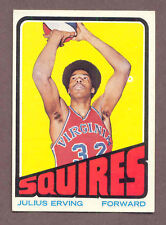 1972 Topps Julius Erving #195 Basketball Card
