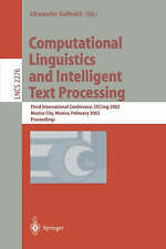 Computational Linguistics and Intelligent Text Processing: Third International C