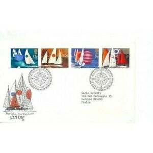 1975 Great Britain FDC Sport The Sailing MF15758