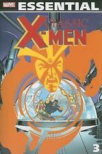 Essential Classic X-Men, Vol. 3 (Marvel Essentials)-ExLibrary