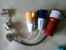 Pat test equipment leads 3-phase 5-pin,240V &110v  Adapter Kit for PAT Testing !