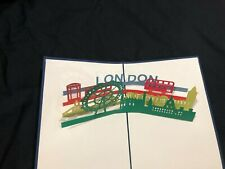 3D Pop Up Card London Greeting Card Love Birthday Anniversary Mother's Day