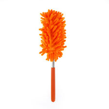 Stretchextend Microfiber Dust Shan Adjustable Feather Duster Dusting Brush Car Y Red