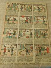 Le Maitre qui écoute la Voix de son chien Cirque Clownerie Humour Print 1930