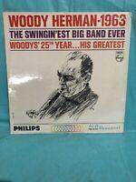 WOODY HERMAN - 1963 THE SWINGIN'EST BIG BAND EVER - NEW SEALED ORIG. VINYL LP
