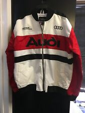 Club Foreign Audi 80 sport rare vintag Racing Windbreaker Zip Jacket