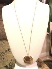 Chloe Long Cluster Pendant Necklace GORJANA  Gold Tone