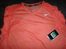NIKE TOUCH TAILWIND RUNNING V NECK DRI FIT SHIRT SIZE XL MEN NWT $50.00
