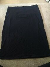 Mamas And Papas Black Maternity Skirt Size 12/14