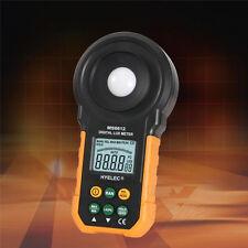 MS6612 Digital Luxmeter 200,000 Lux Light Meter Test Spectra Auto Range