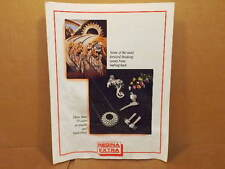 "Regina Extra Drivetrain Pamphlet (8 1/2"" x 11"" Page Size)...Water Damage"
