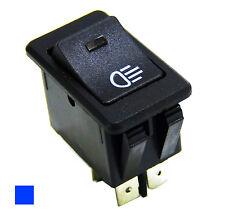 12V 35A Car Fog Light Headlight Rocker Switch 4 Pins LED Dash Dashboard Blue