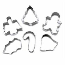 Wilton Set of 6 Mini Christmas Cookie Cutters