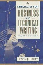 Strategies for Business and Technical Writing (4th Edition), Kevin J. Harty, 020