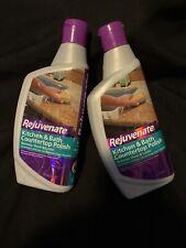 Lot Of 2 - Rejuvenate Kitchen & Bathroom Countertop Polish